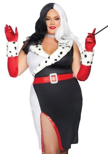 Womens Plus Devilish Diva Costume