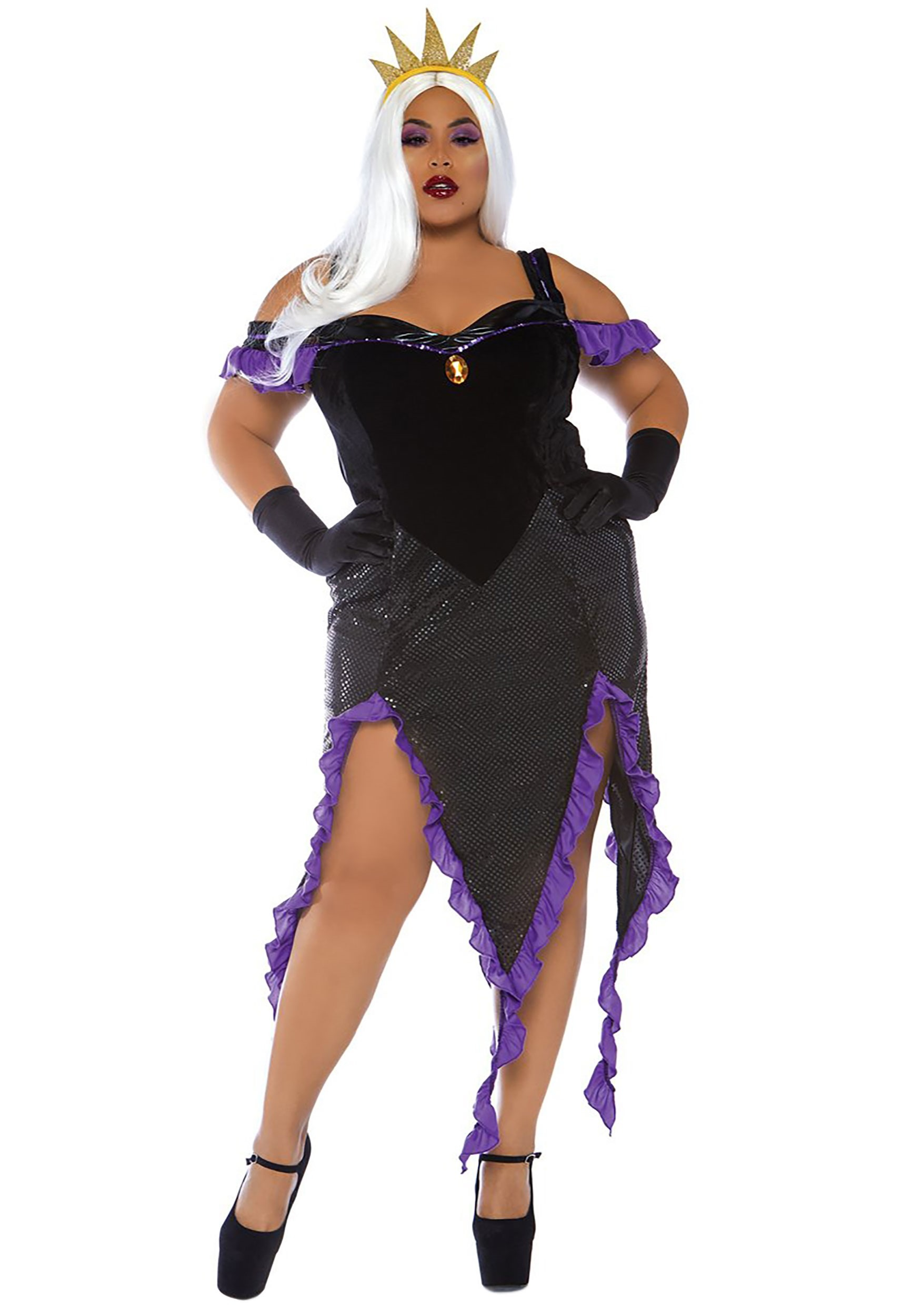 Plus Size Sexy Witch Costume Adult Women Magic Moment ... |Plus Size Halloween Costumes Witch