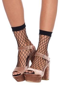 Black Fishnet Ankle Socks