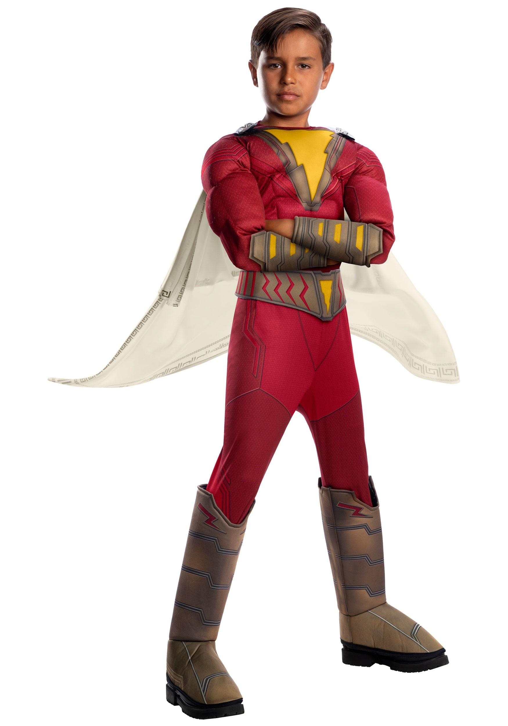 907364756e1 Child's Shazam! Deluxe Costume