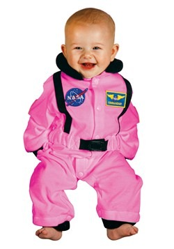 Infant Pink Astronaut Costume