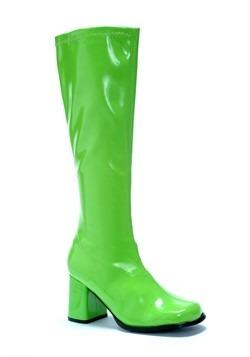Women's Green Gogo Boots