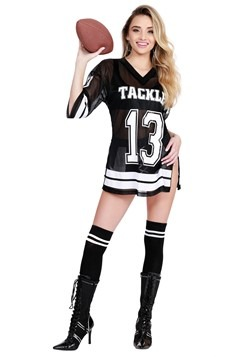 sexy women football player costume