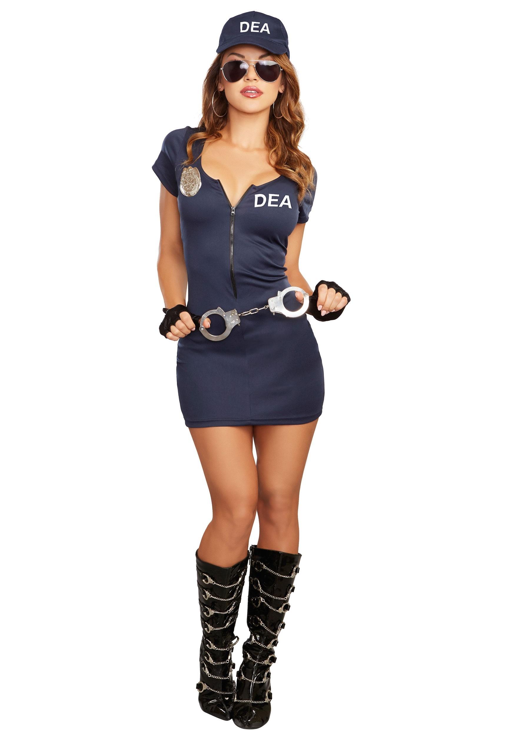 Halloween Costumes 2020 Dea Women's DEA Agent Costume