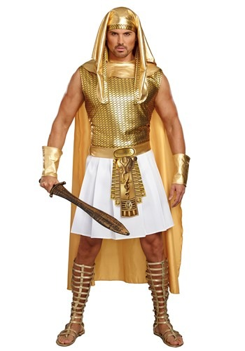 Click Here to buy Ramses Egyptian Mens Costume from HalloweenCostumes, CDN Funds