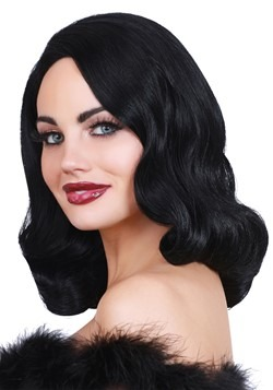 Hollywood Black Glamour Wig