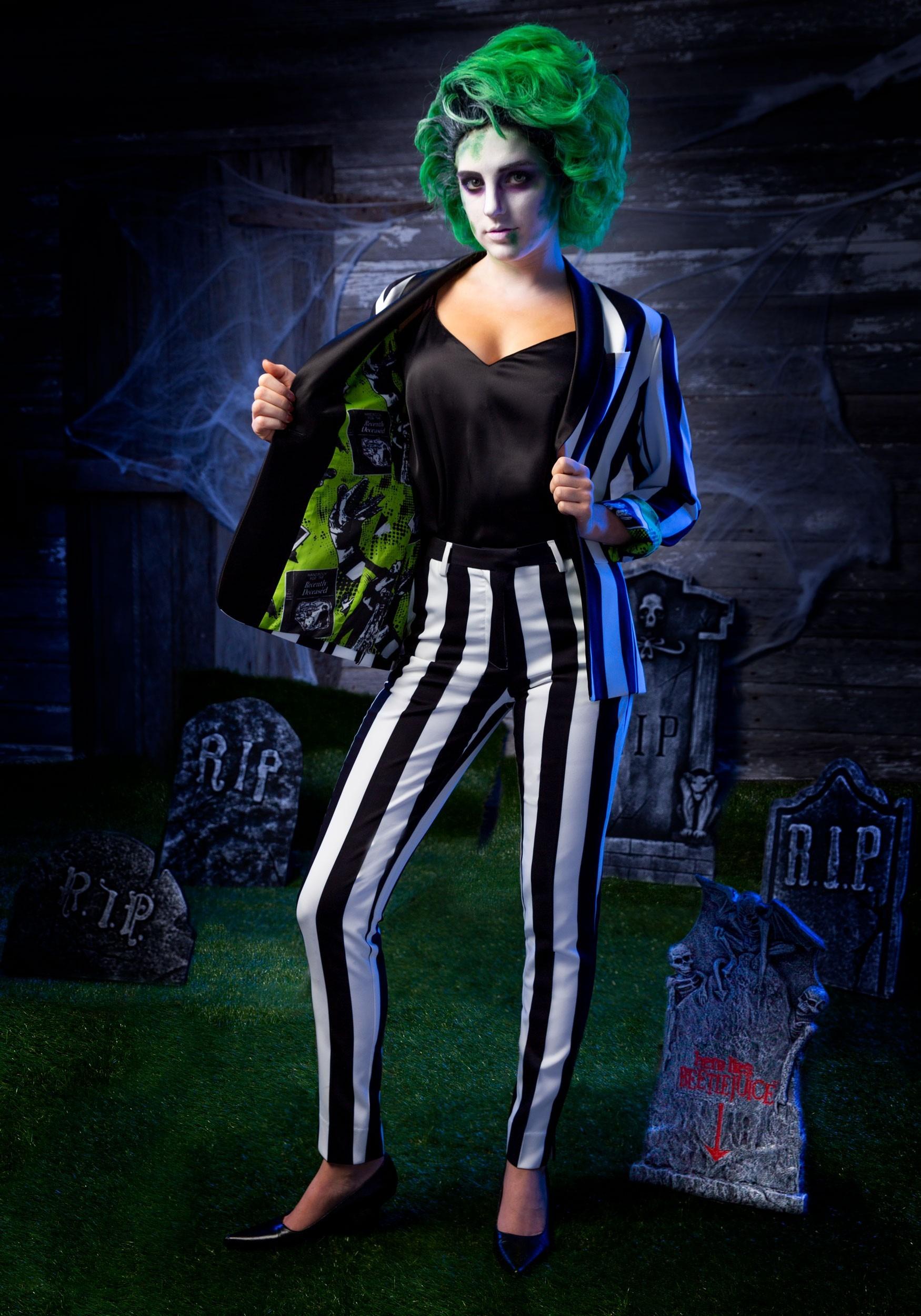 Beetlejuice Women S Suit Pants