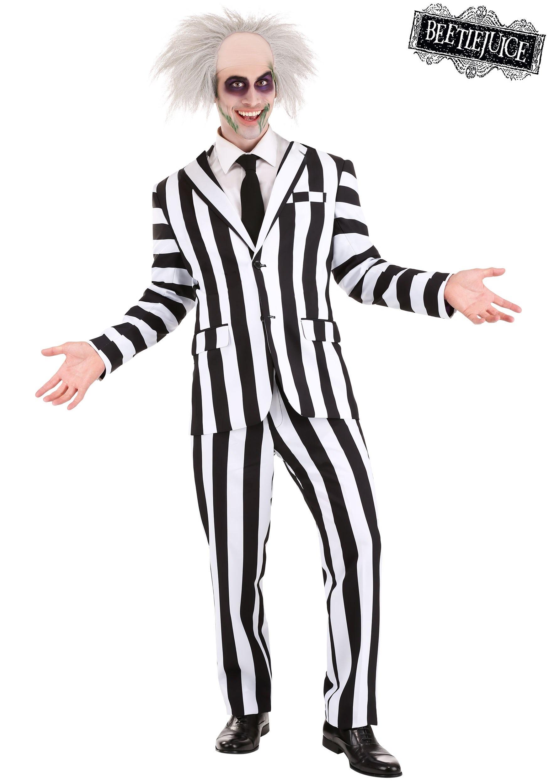 Men S Beetlejuice Suit Costume