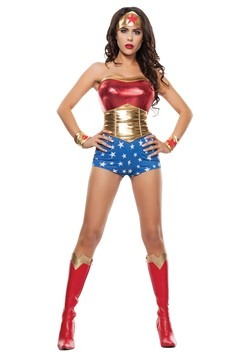 Women's Power Lady Costume