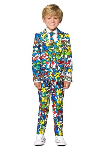 Opposuit Super Mario Boy's Suit