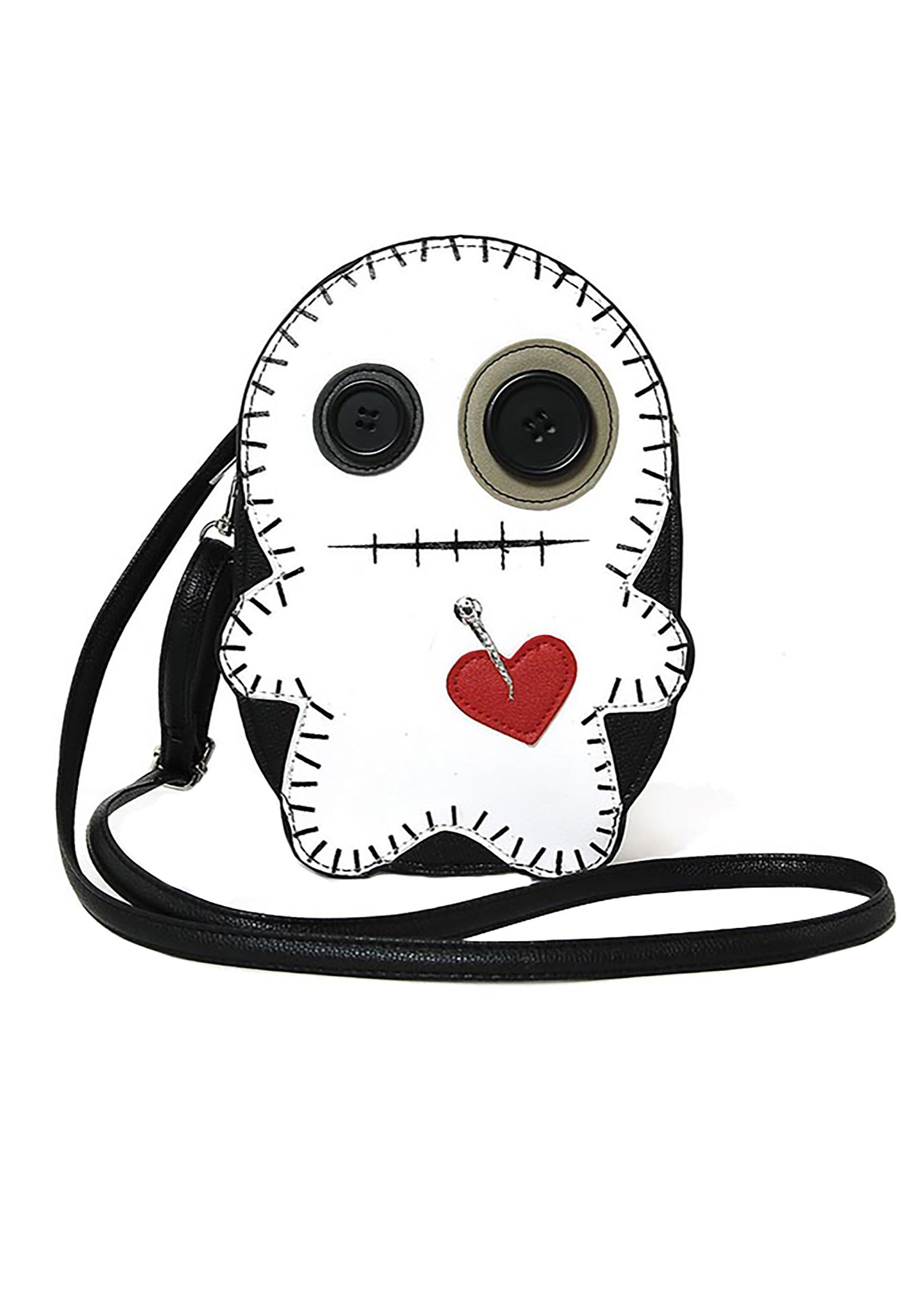 Black/White Voodoo Doll Purse (CEC86013UB-ST CEC86013UB) photo