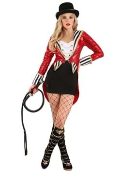 Women's Sexy Sequin Ringmaster Costume