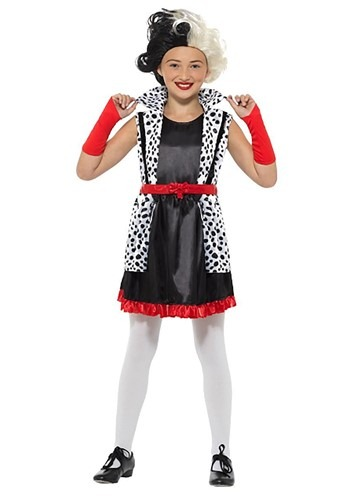 Girl's Evil Madame Costume