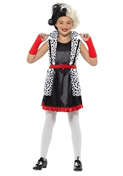 Girl's Evil Madame Costume