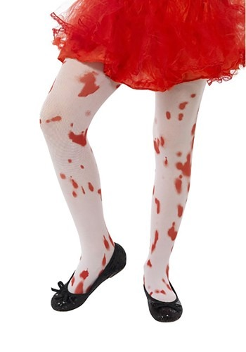 Child Blood Splatter Tights