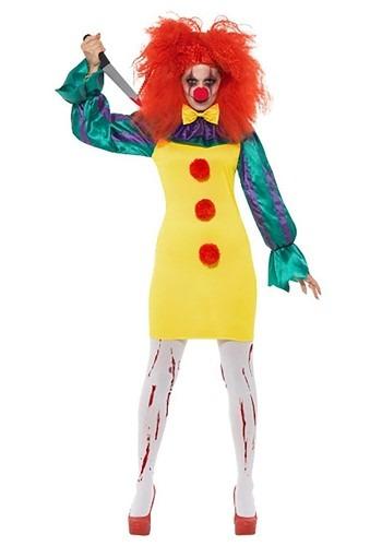 Classic Horror Clown Costume Womens