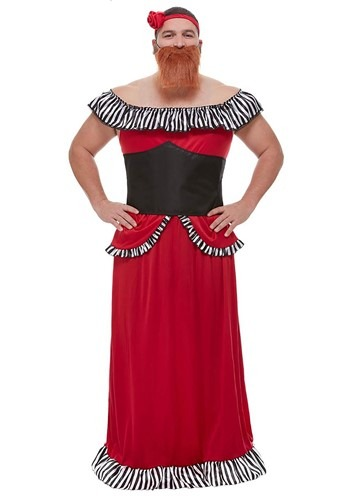 Bearded Lady Costume for Adults