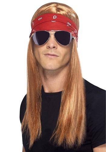 Men's 80's Jungle Rocker Wig