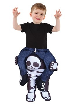 Toddlers Skeleton Piggyback Costume