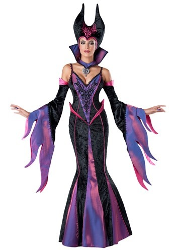 Sexy Edgy Badass Halloween Cosplay WOMEN'S DARK SORCERESS COSTUME