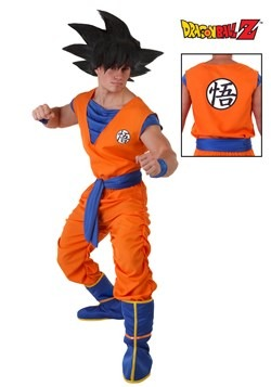 Dragon Ball Z Plus Size Goku Costume update2
