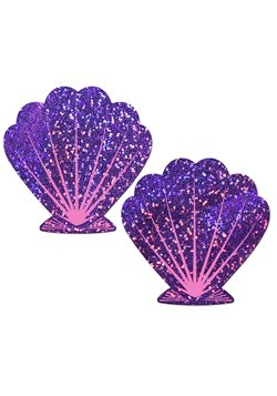 Pastease Purple Shell Mermaid Pasties