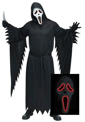 E.L. Ghost Face Costume Adult Plus Size update