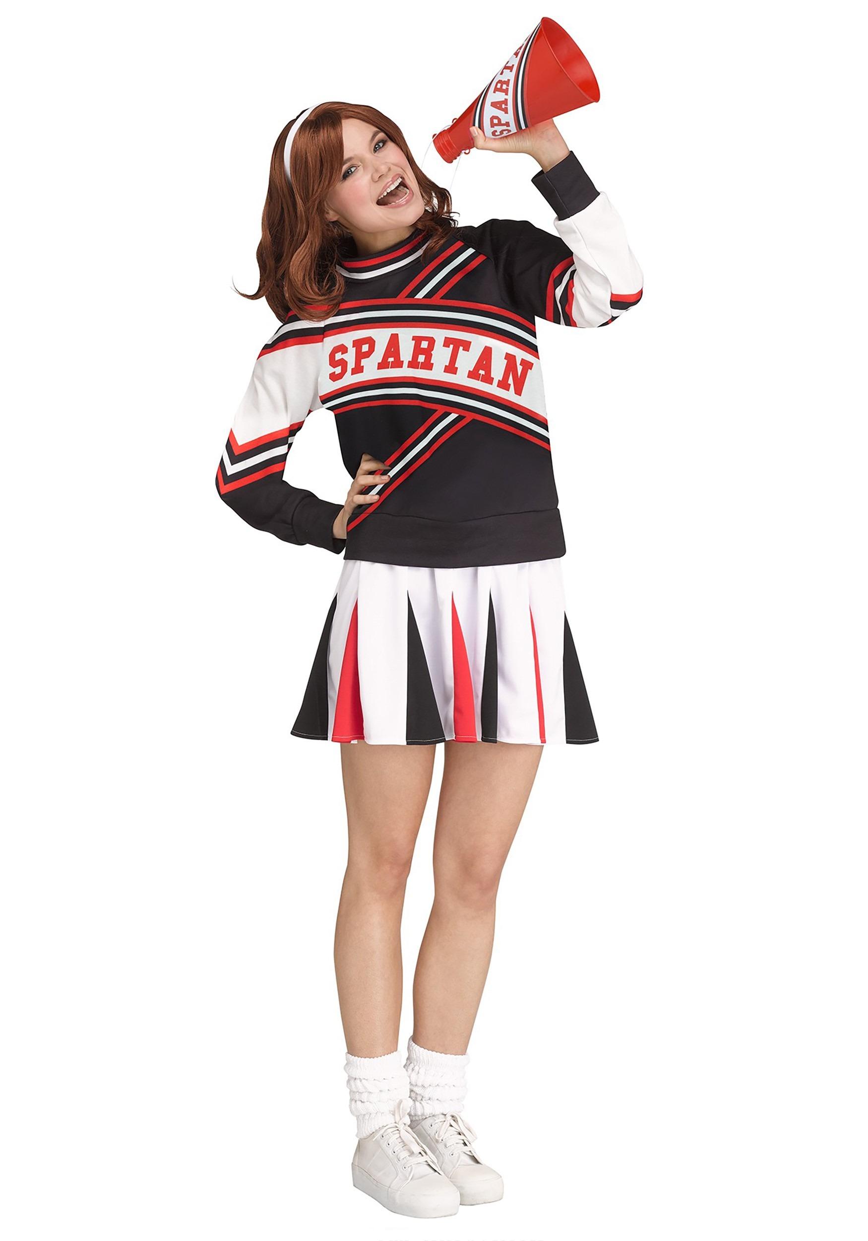 Spartan Cheerleader Mens Adult Saturday Night Live Halloween Costume
