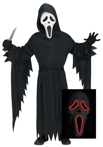 E.L Ghost Face Costume Adult