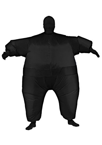 Adult Inflatable Black Jumpsuit Costume