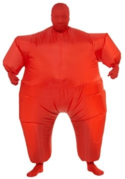 Adult's Inflatable Red Jumpsuit Costume