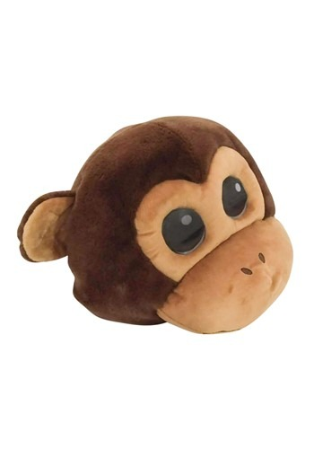 Click Here to buy Monkey Mascot Head Animal Mascot Costumes from HalloweenCostumes, CDN Funds