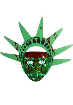 The Purge Lady Liberty Light Up Mask