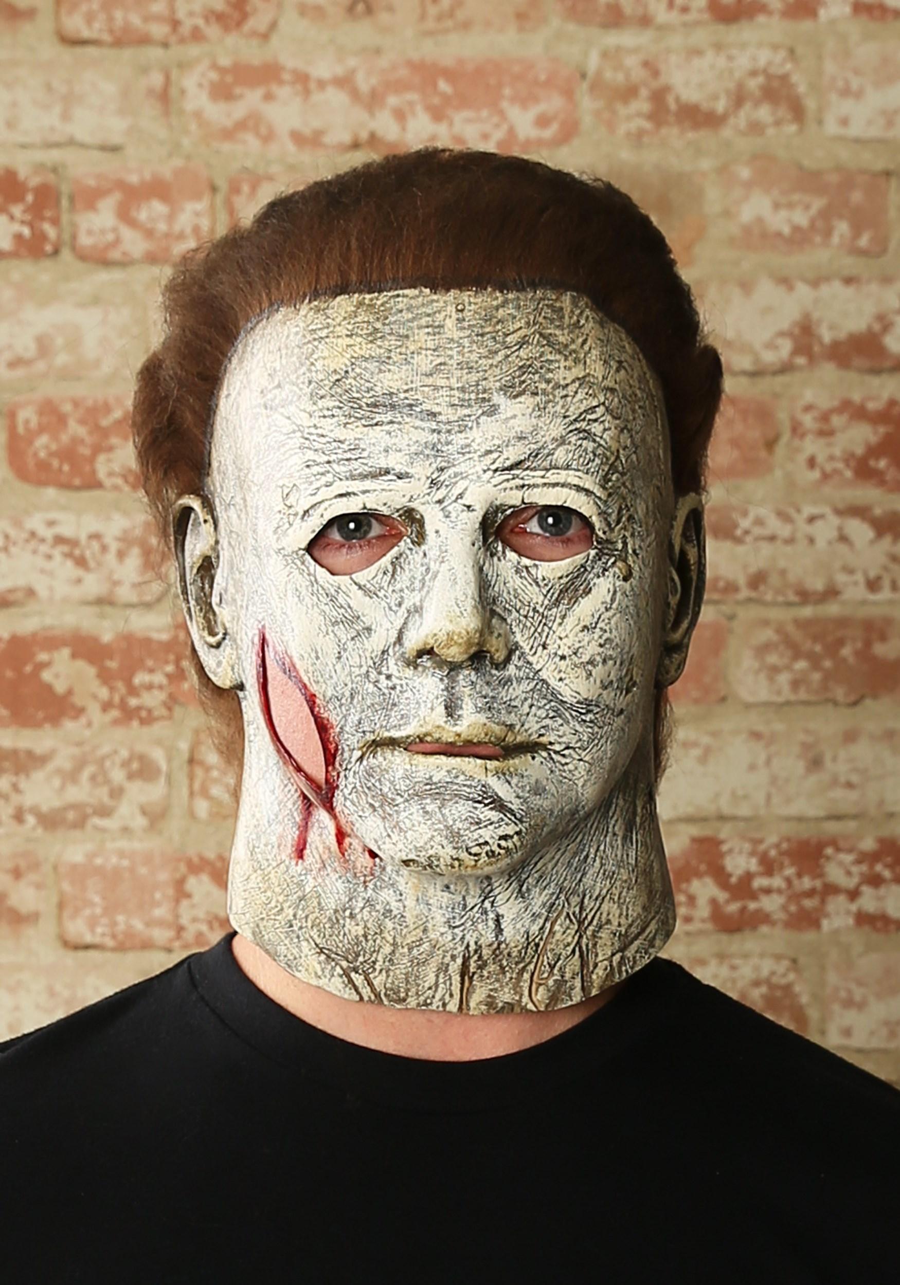 Halloween 2020 - Michael Myers Mask Michael Myers Halloween (2018) Final Battle Mask