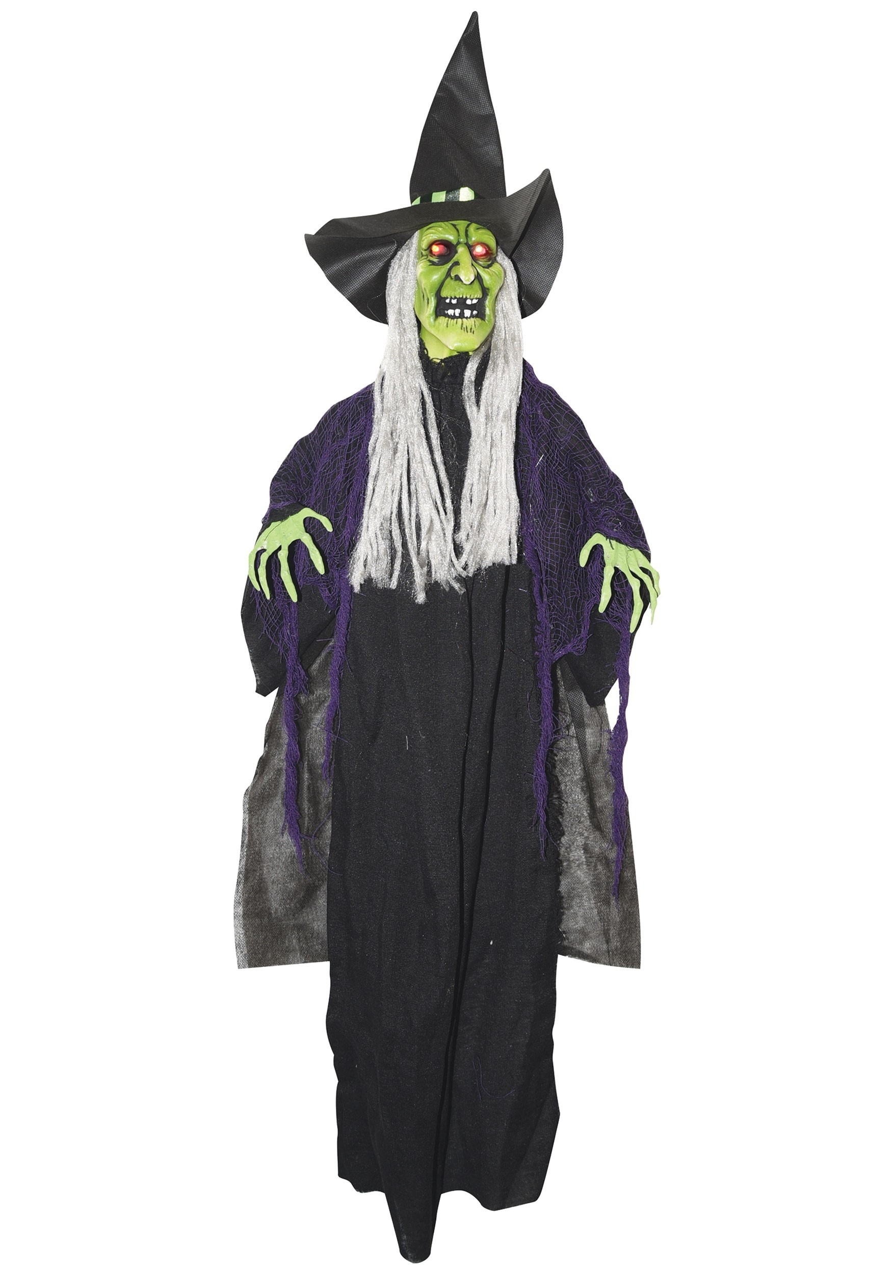 Hanging Witch Animated Prop