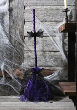 Purple Animated Shaking Broom