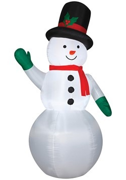 Inflatable Snowman Decoration