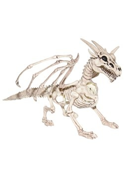 "9"" Skeleton Dragon Prop"
