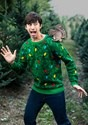 Adult 3D Squirrel in the Christmas Tree Unisex Ugly Sweater