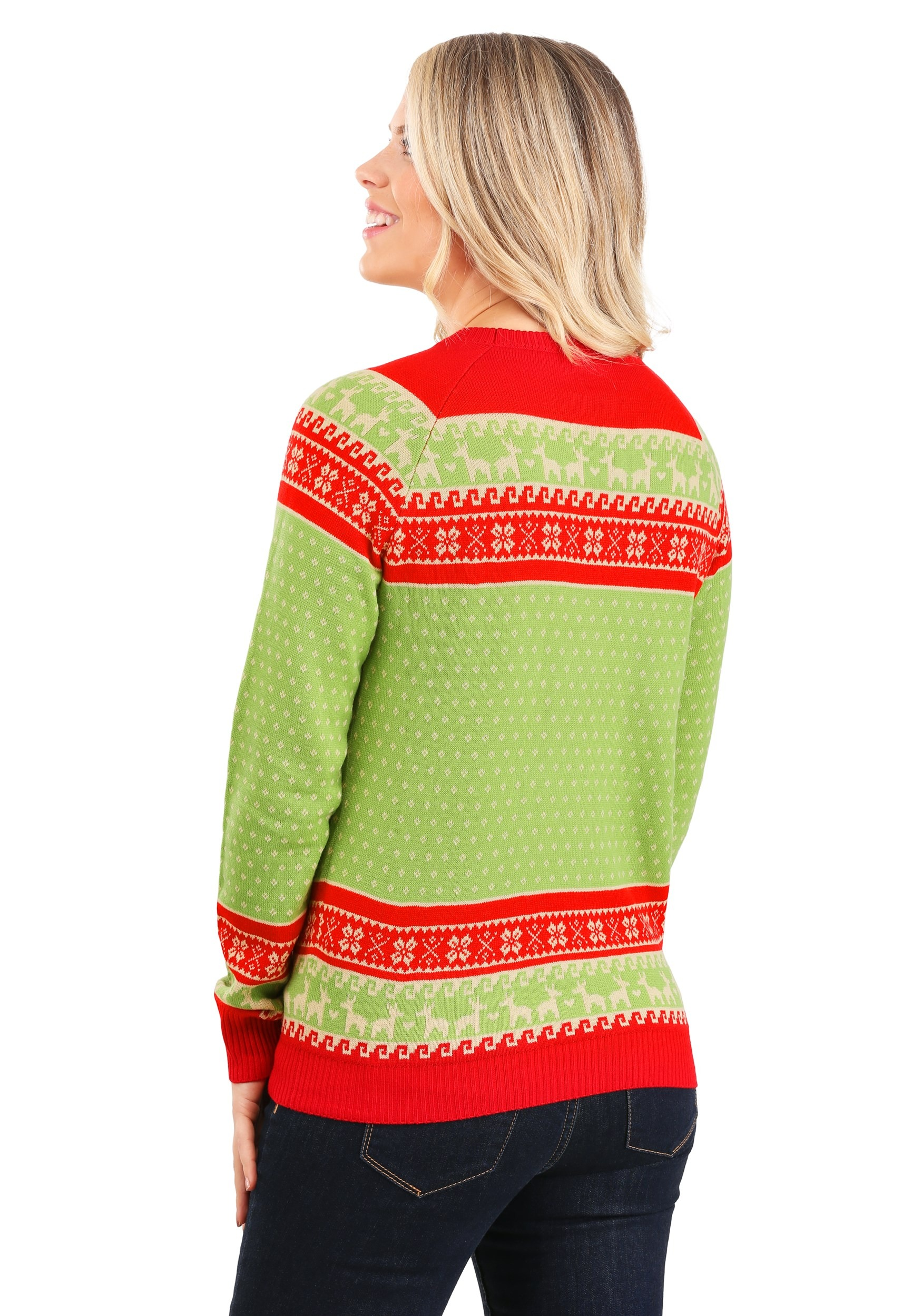 Llama Christmas Sweater.Adult Christmas Llama Unisex Ugly Sweater