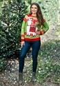 Adult Christmas Llama Unizex Ugly Sweater alt2