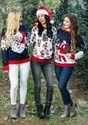 Adult Santa & Reindeer Unisex Ugly Christmas Sweater alt4
