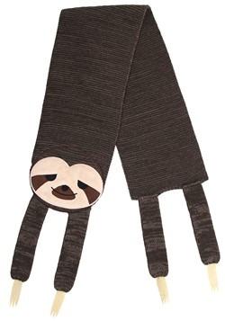 Sleepy Sloth Knit Scarf