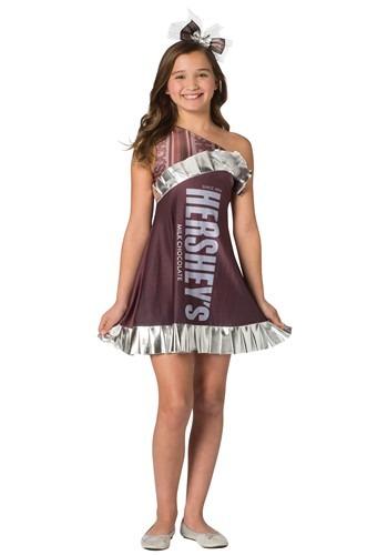 Hershey's Tween Hersey's Bar Costume
