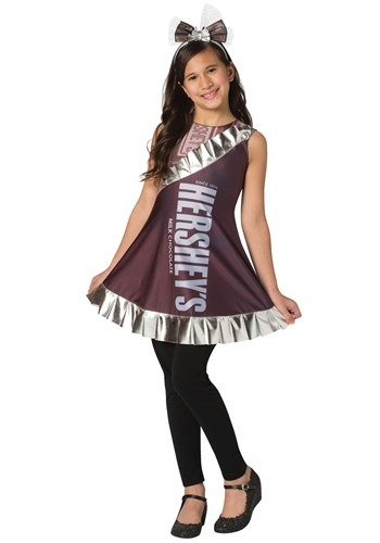 Hershey's Girls Hershey's Bar Costume