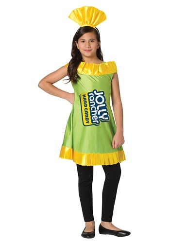 Jolly Rancher Girls Apple Jolly Rancher Costume