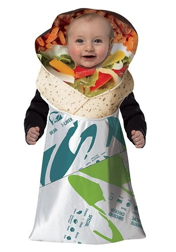 Taco Bell Infant 7 Layer Burrito Bunting Costume