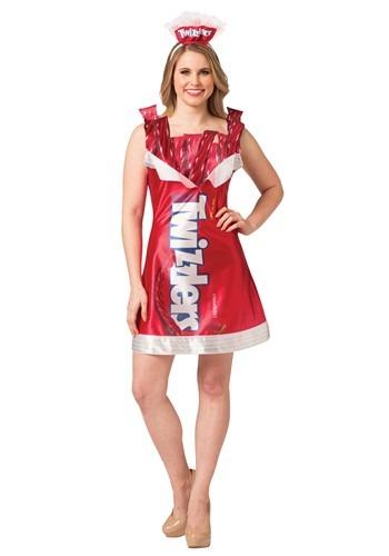 Womens Twizzlers Dress Costume