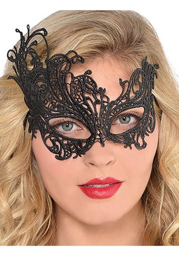 Black Lace Mask