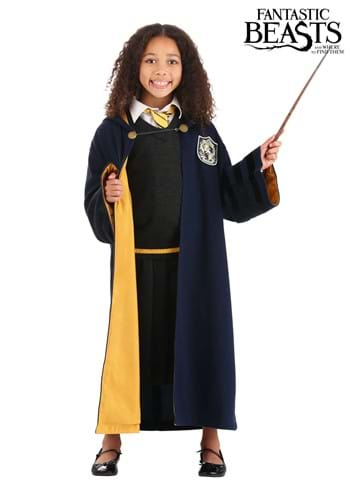 Child Vintage Hogwarts Hufflepuff Robe update
